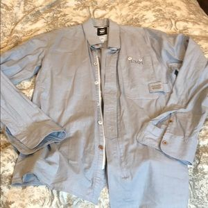 G-Star Raw_Men's Shirt_SZ:L(fit M- L)_New_zipper
